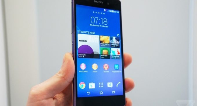 Sony Xperia Z2 – The World's Best Camera and Camcorder in a Waterproof Smartphone