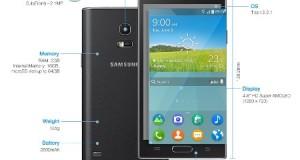 Tizen Powered Samsung Z smart mobile 01
