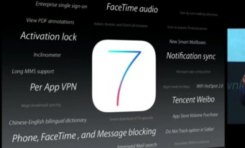 World's Advanced Operating System IOS 7