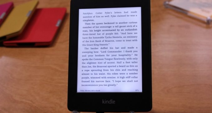 Experience the Real E-Book Reading by 2nd Generation New Kindle Paper White