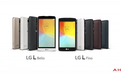 New Pair of Budget Smart Phones-LG L Bello and L Fino