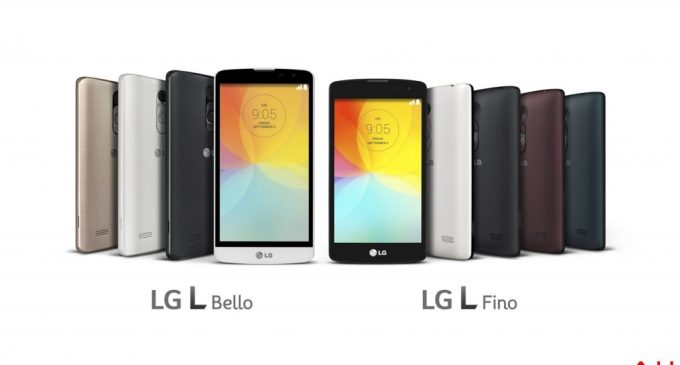 New Pair of Budget Smart Phones-LG L Bello and L Fino