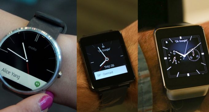 Comparison between the Android Wearable