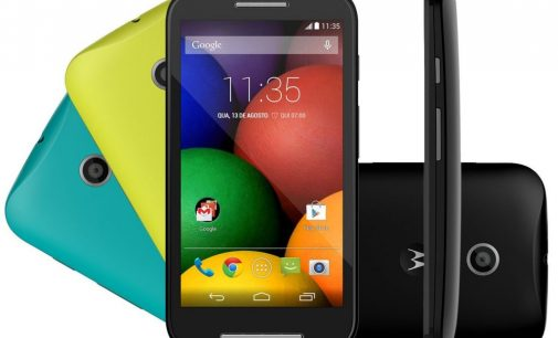 Motorola Moto E at a Glance