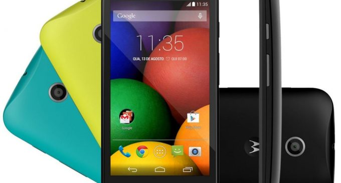 Motorola Moto E at a Glance