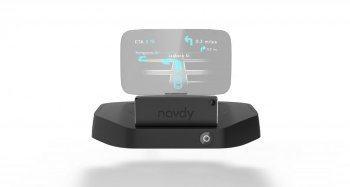 New Way to Drive in Future- Navdy Head-Up Display