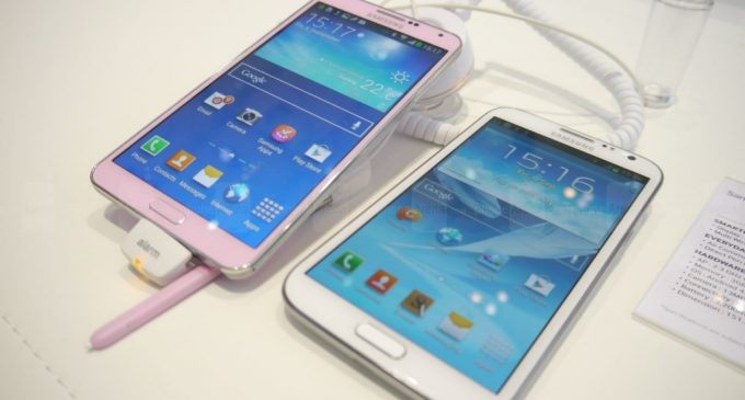 LG G2, Sony Xperia Z Ultra and Samsung Galaxy Note 3