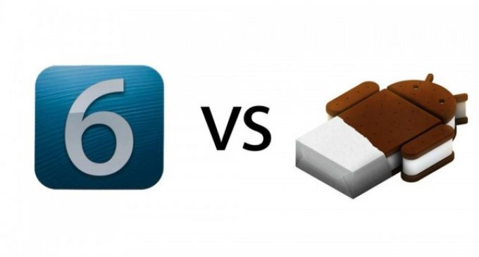 Android L vs iOS 8 comparison