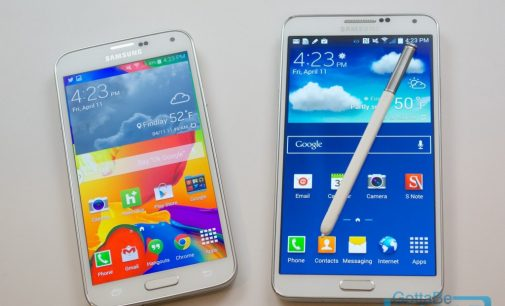 Samsung Galaxy Note 4 Vs Samsung Galaxy S5