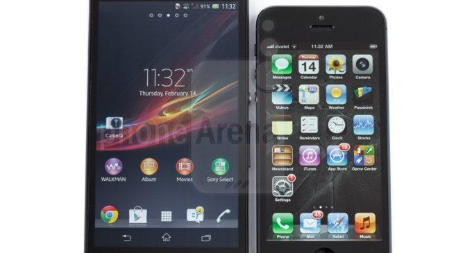 Xperia Z3 vs iPhone 6 Comparison review