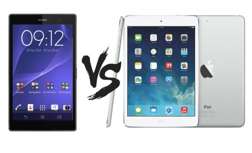Upcoming tablets- Xperia Z3 Tablet Compact & iPad Mini with Retina Display