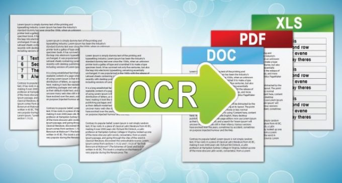 How Optical Character Recognition Will Save You Time During the Digitization Process