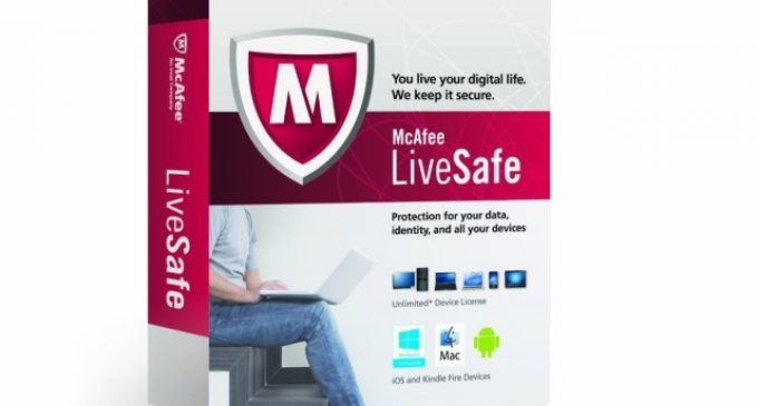 Top Level Protection for PCs, Laptops and Mobile- McAfee LiveSafe 2015