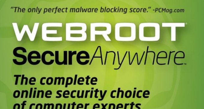 Webroot Secure Anywhere Internet Security Review