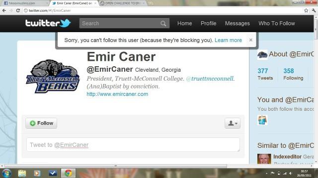 EmirCanerBlocksMohammadKhanTwitter