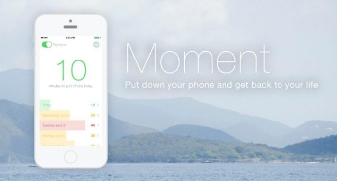 No more chatting even under the table, now Moment is here to alert your parents