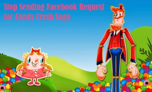 Block Candy Crush Saga and other app requests and notifications on Facebook