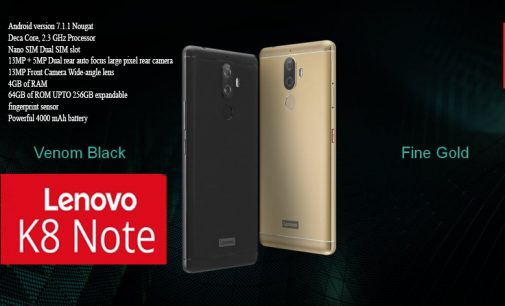 Lenovo K8 Note Comes with Pure stock Android, First Impression