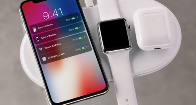 Apple AirPower Wireless Charging Pad Revealed, they Will Launch in 2018