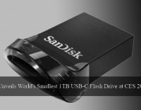 SanDisk Unveils World's Smallest 1TB USB-C Flash Drive at CES 2018 Event