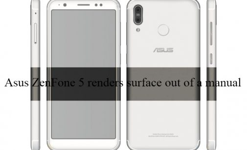 Asus ZenFone 5 Renders Surface Out of a Manual